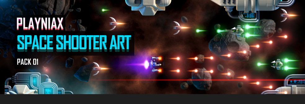 Space Shooter Art Pack 01