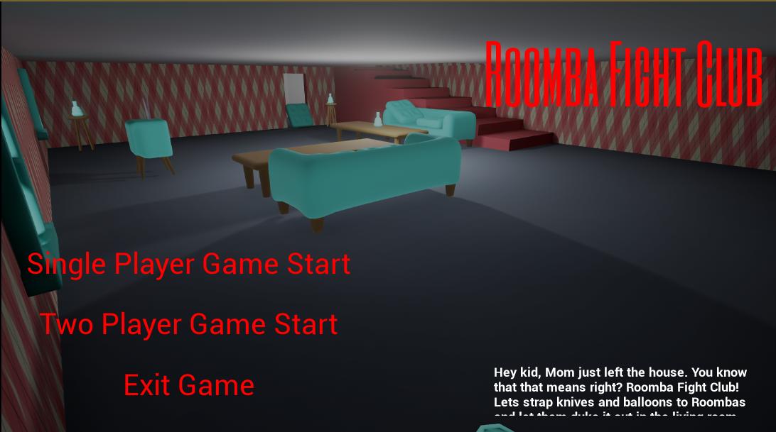 Roomba Fight Club