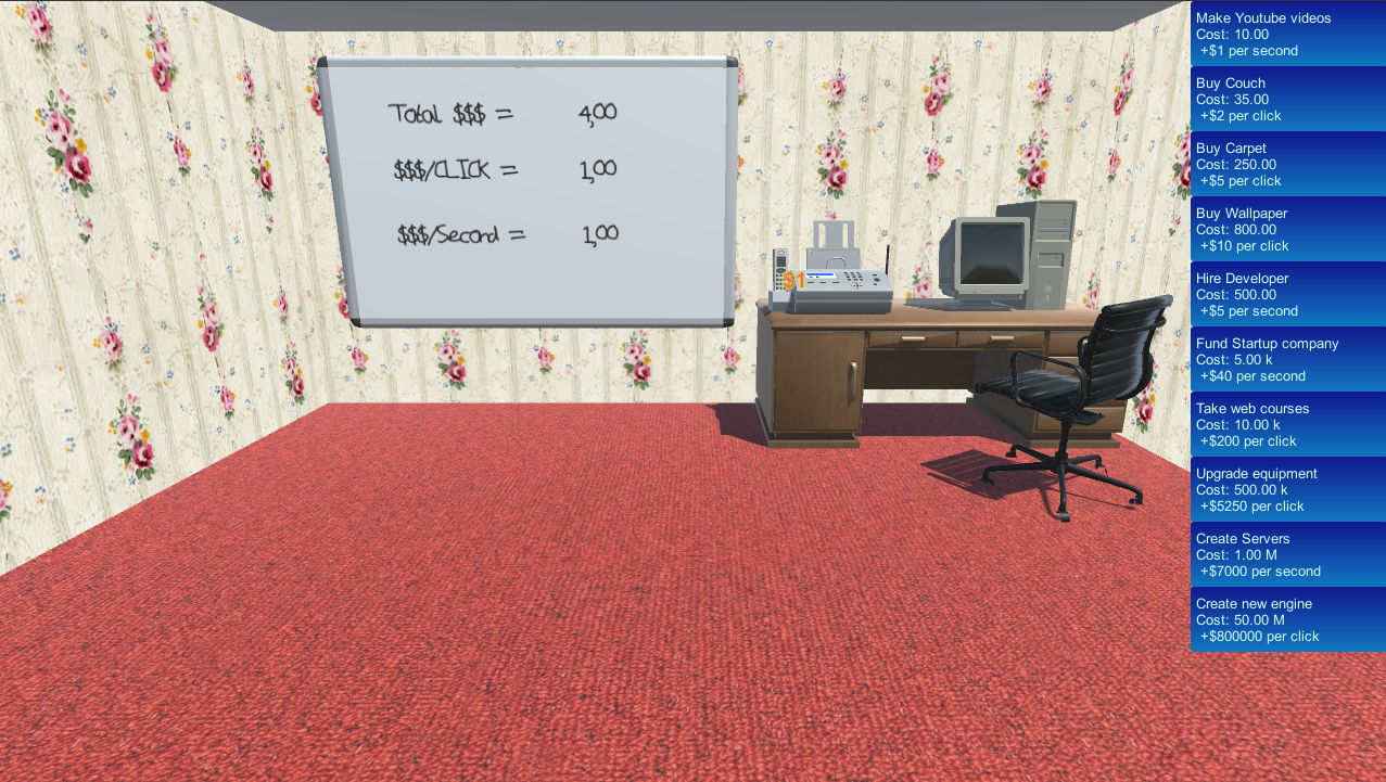 Ludum Dare 37: Idle Office Simulator by horlof