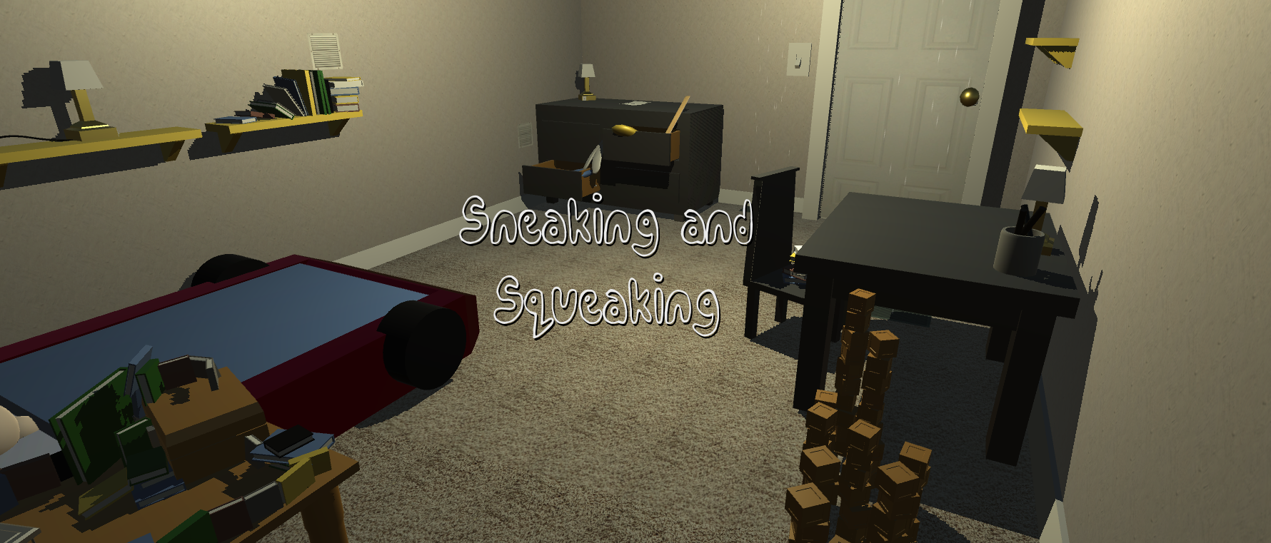 Sneaking and Squeaking (LD37)