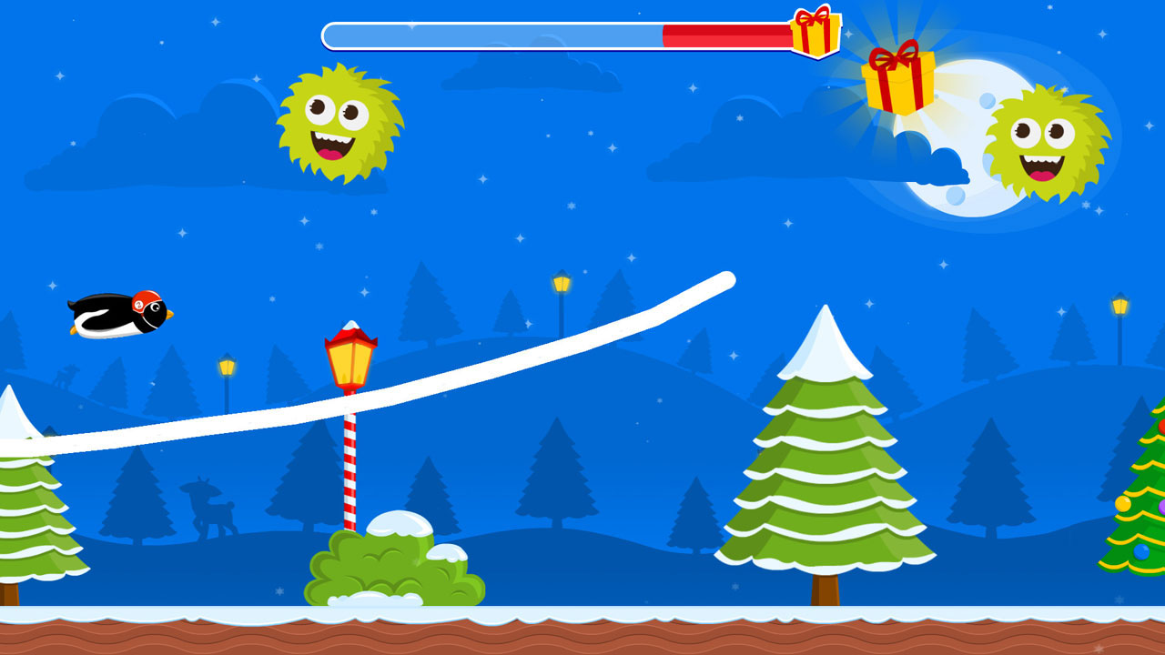 Christmas Adventure of Rocket Penguin by Petite Games