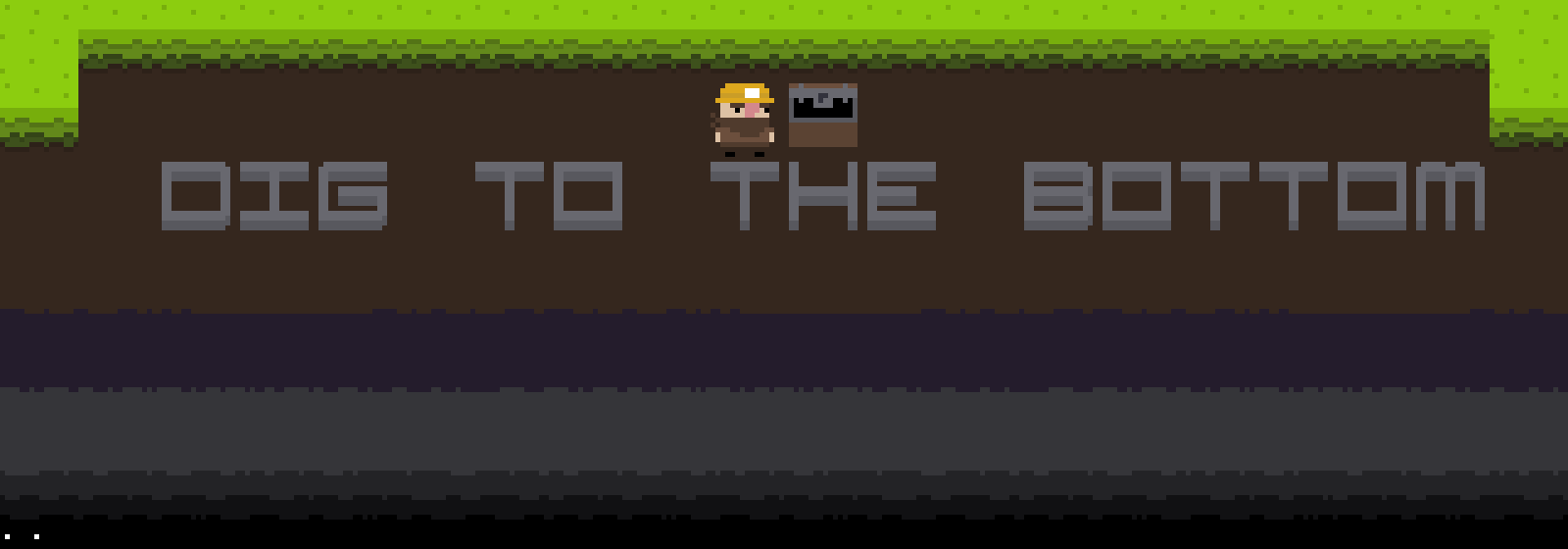 Dig to the Bottom (Prototype)