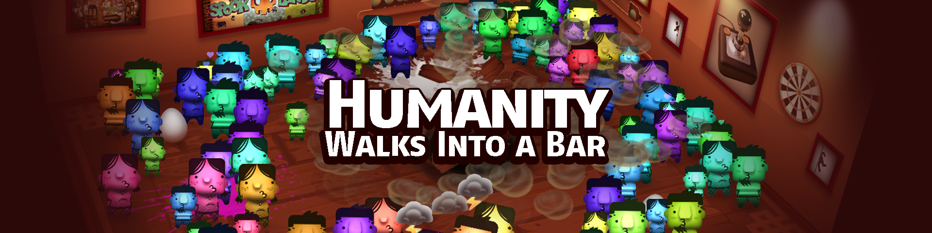 Humanity Walks Into a Bar