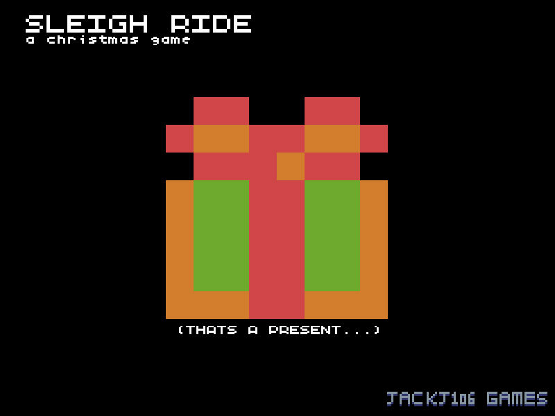 Sleigh Ride - A Christmas Game