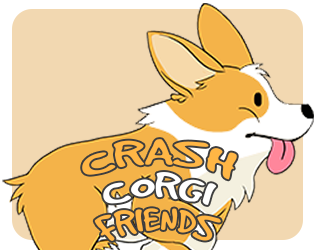 Crash Corgi Friends