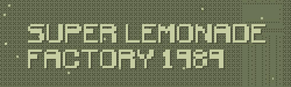 Super Lemonade Factory 1989