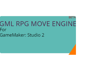 GML RPG Move Engine v.0.3.1