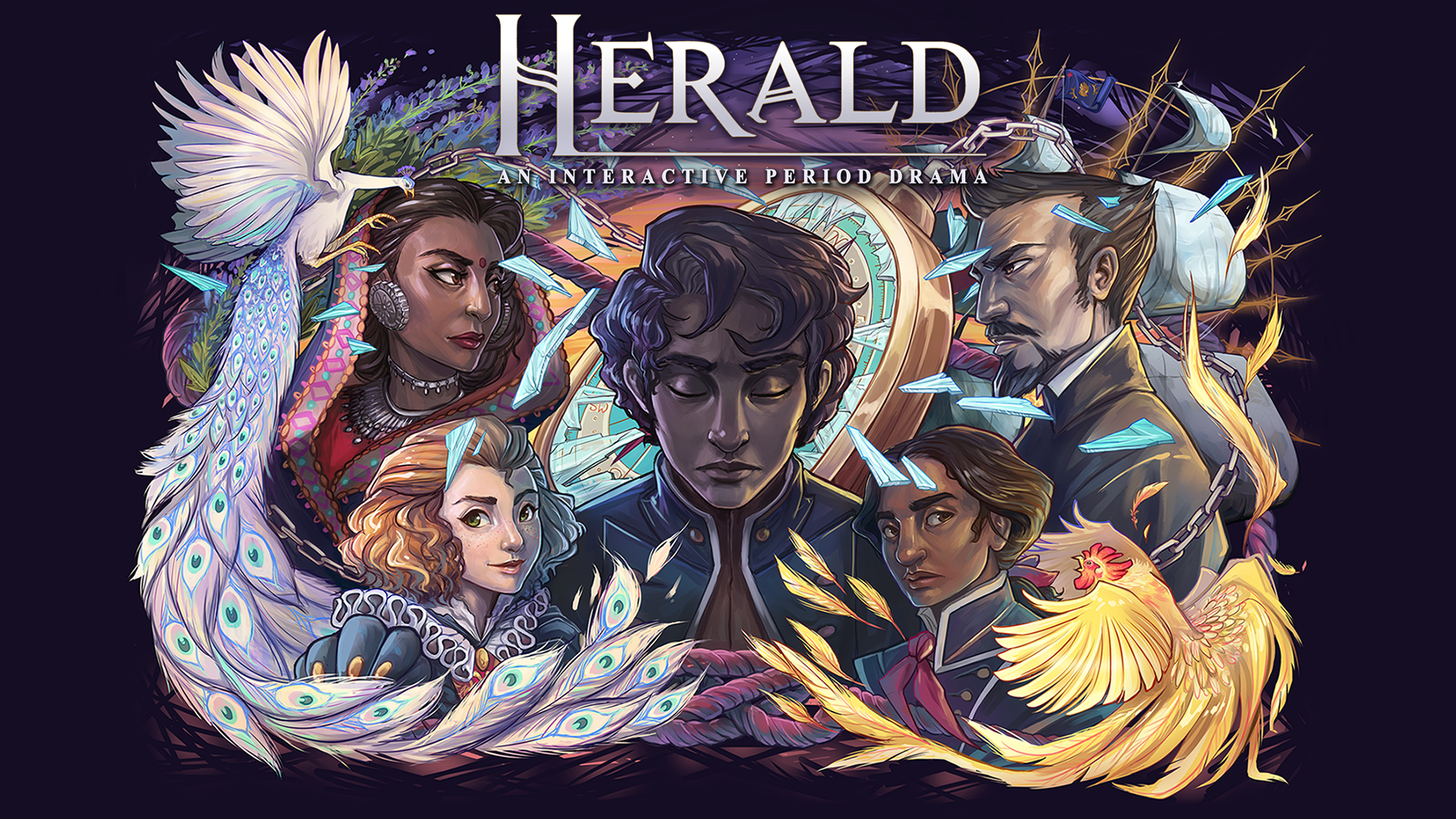 Herald - An Interactive Period Drama - Book I & II