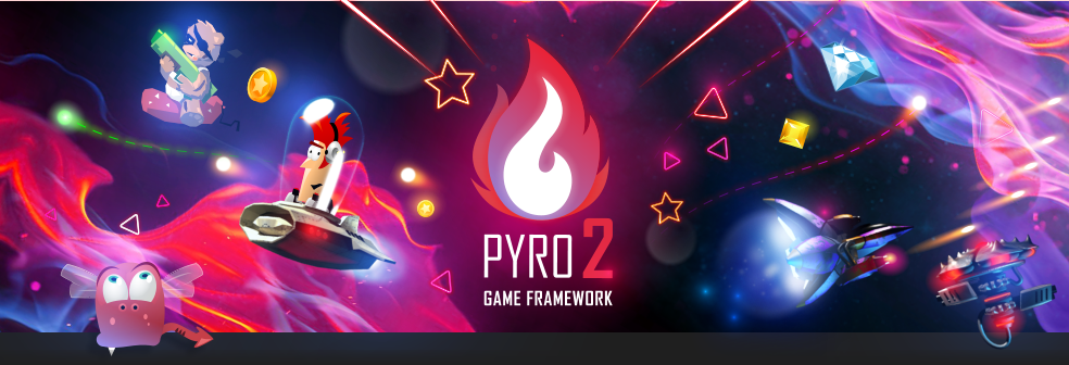 Pyro 2 - The 2D Game Framework