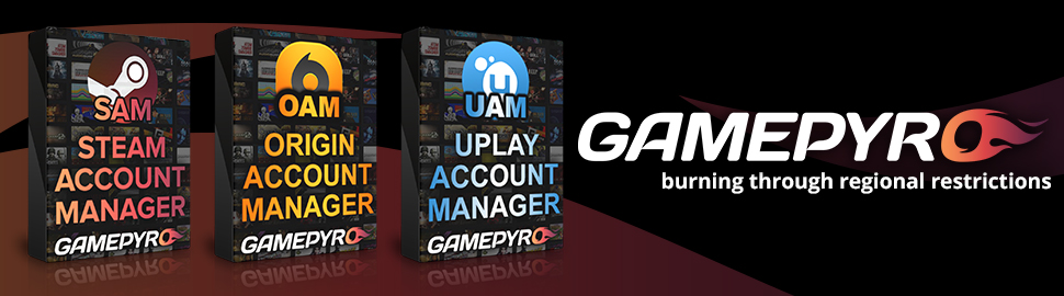 Steam Account Manager - GamePyro.com