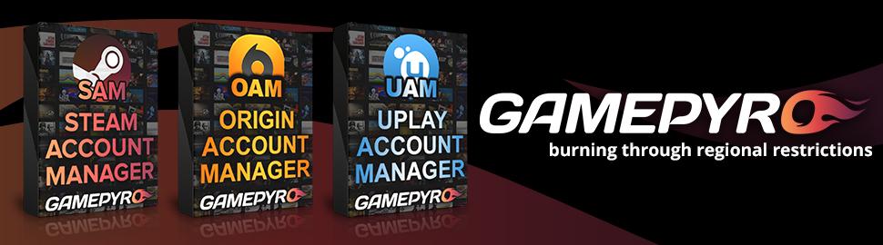 Origin Account Manager - GamePyro.com