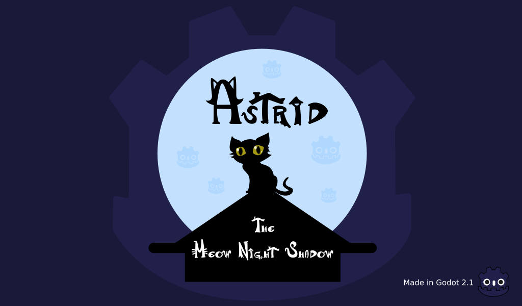 Astrid - The Meow Night Shadow