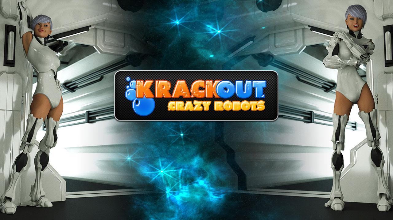 KrackOut - Crazy Robots (Breakout Clone)
