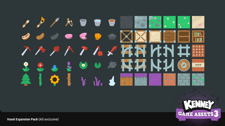 Kenney Game Assets 3 by Kenney