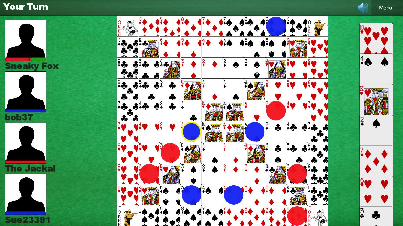 One Eyed Jacks Game