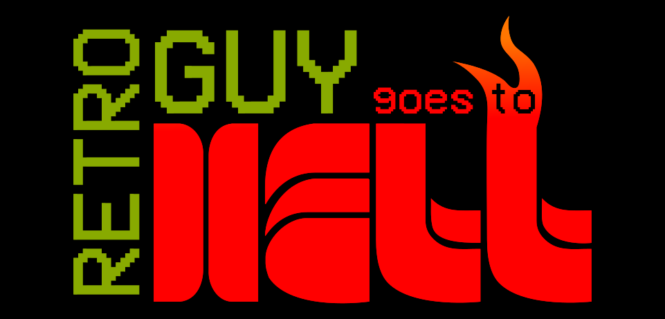 Retro Guy Goes To Hell