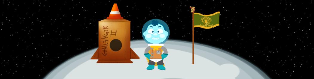 Camp Camp Lunar Lander