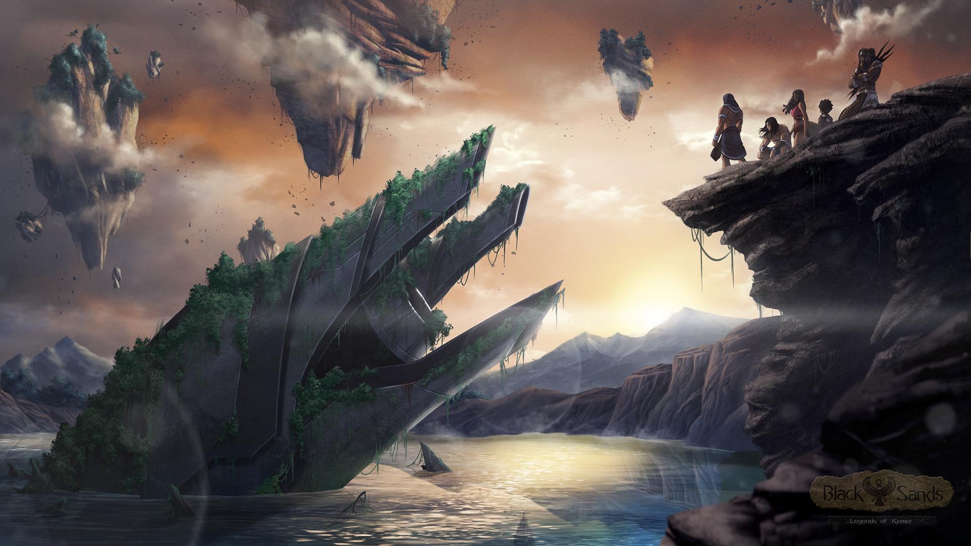 Black Sands, Legends of Kemet