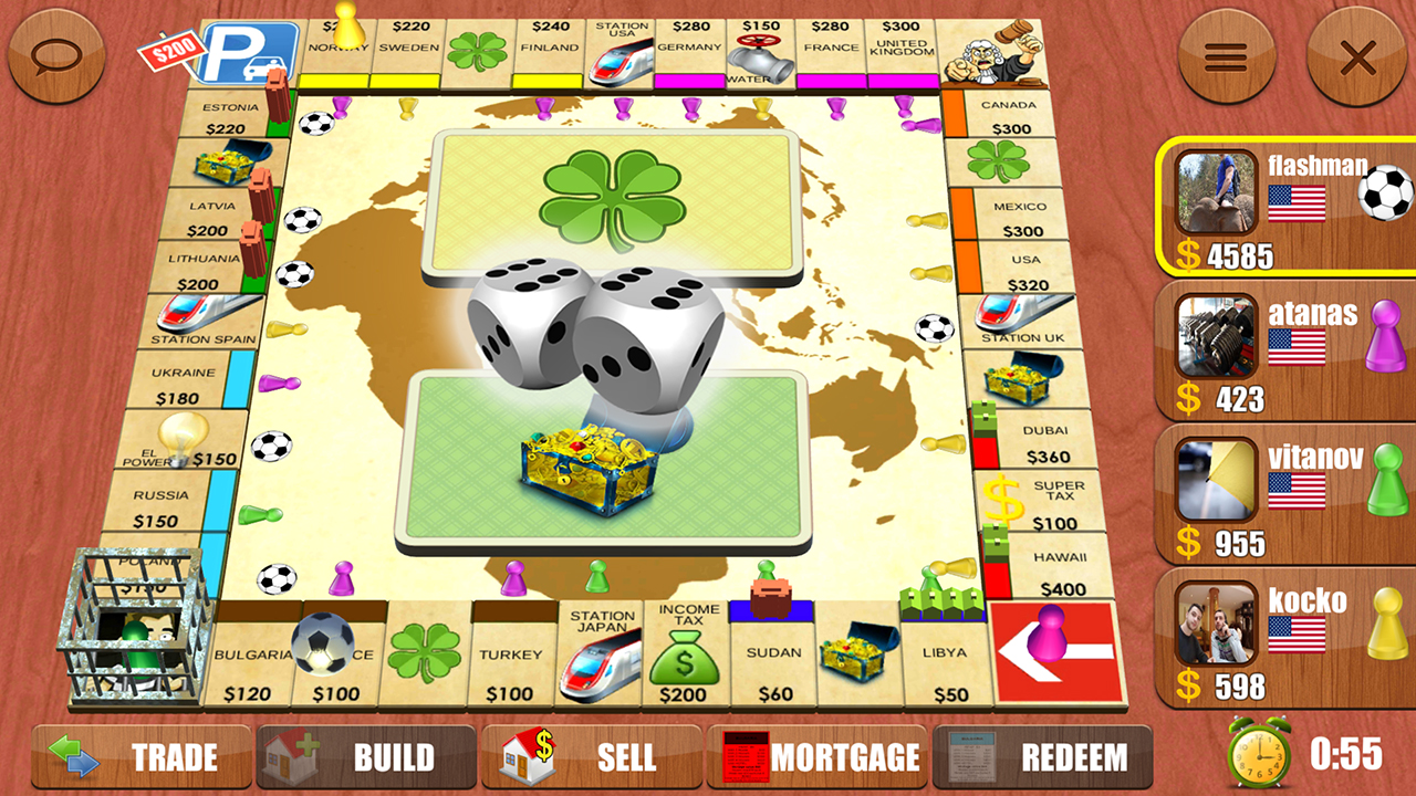 Play Monopoly Games - Emulator Online