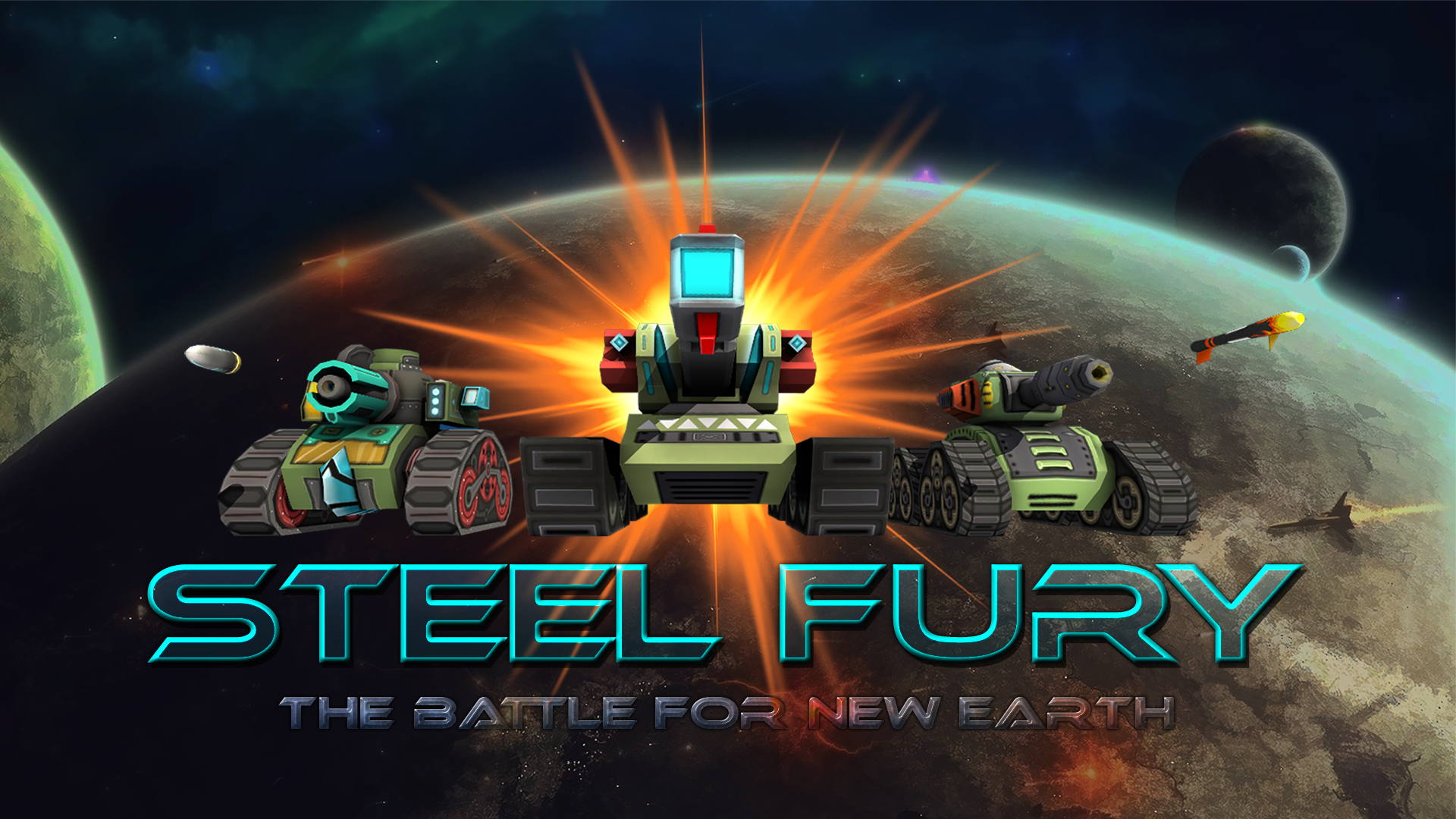 Steel Fury. The Battle for new Earth