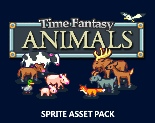 Animals Sprite Pack by finalbossblues