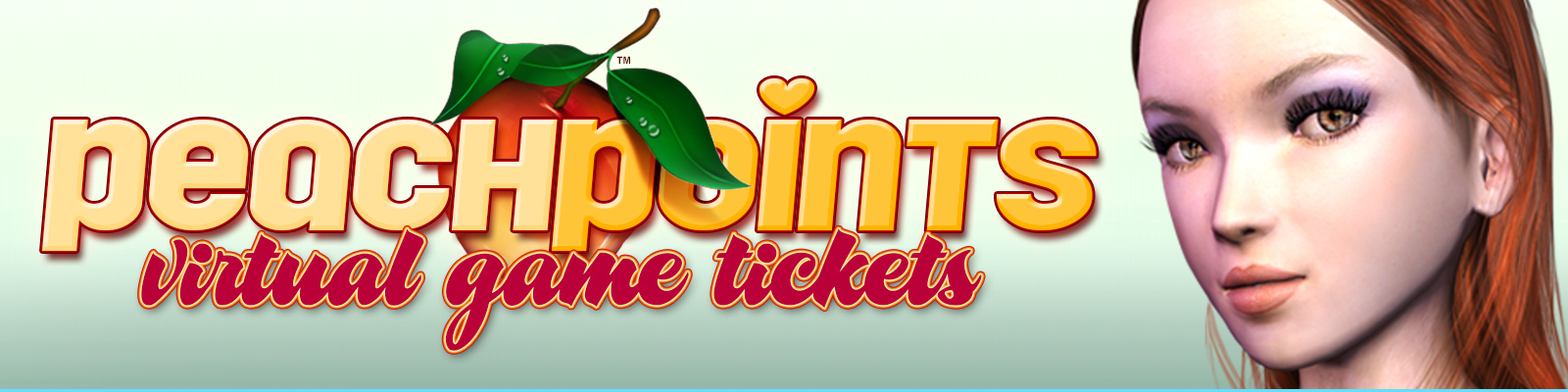 Peach Points : (5,000) Virtual Game Tickets