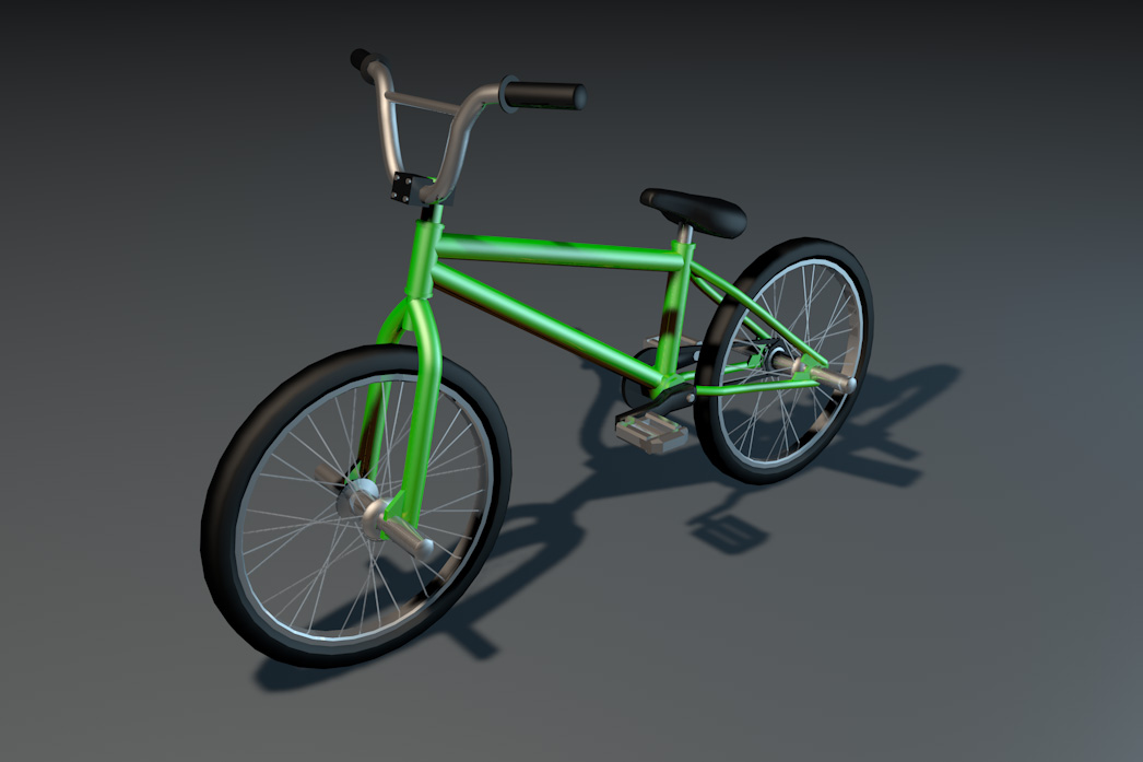 free bmx 3d model by psionic games