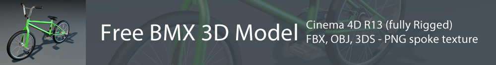 Free BMX 3D Model
