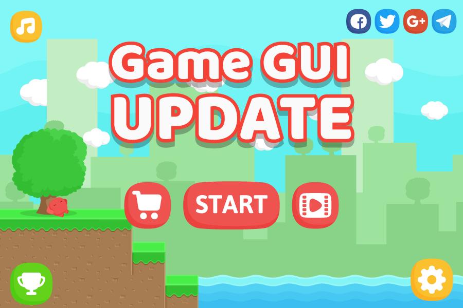Free Platform Game Assets + GUI by Bayat Games