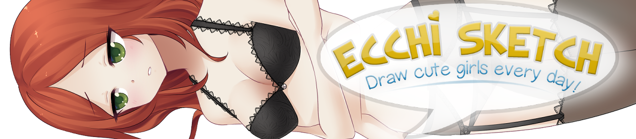 Ecchi Sketch: Draw Cute Girls Every Day! (Mature Ver)