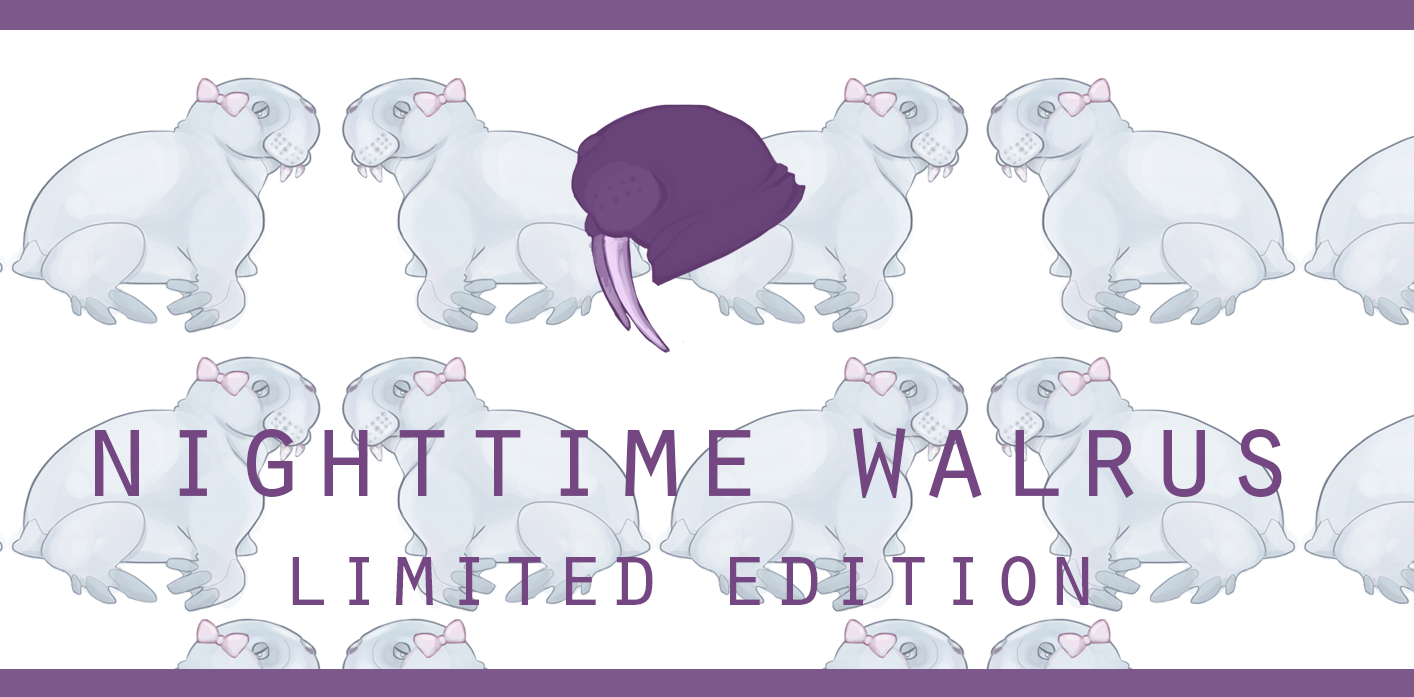 Nighttime Walrus - Limited Edition