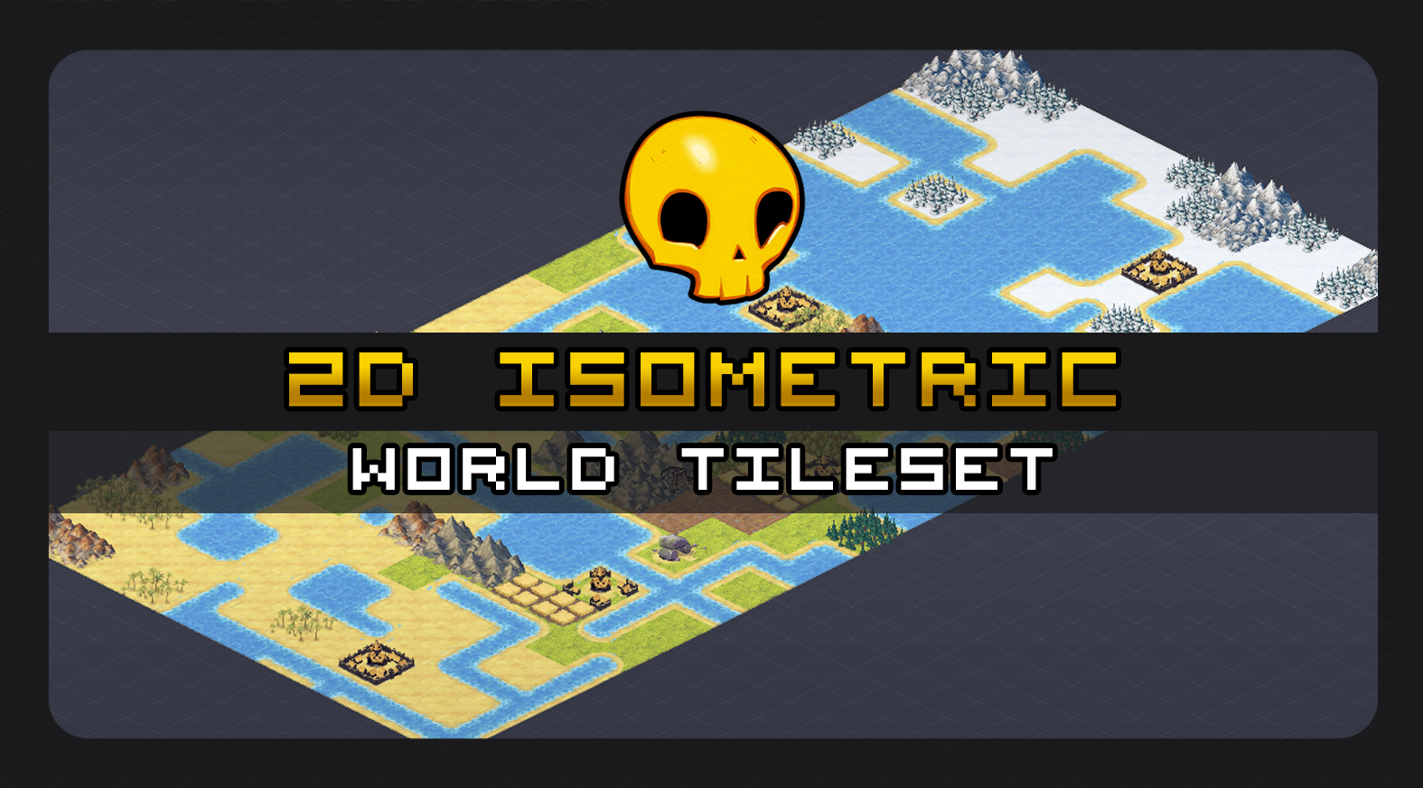 2D Isometric World Tileset - WIP