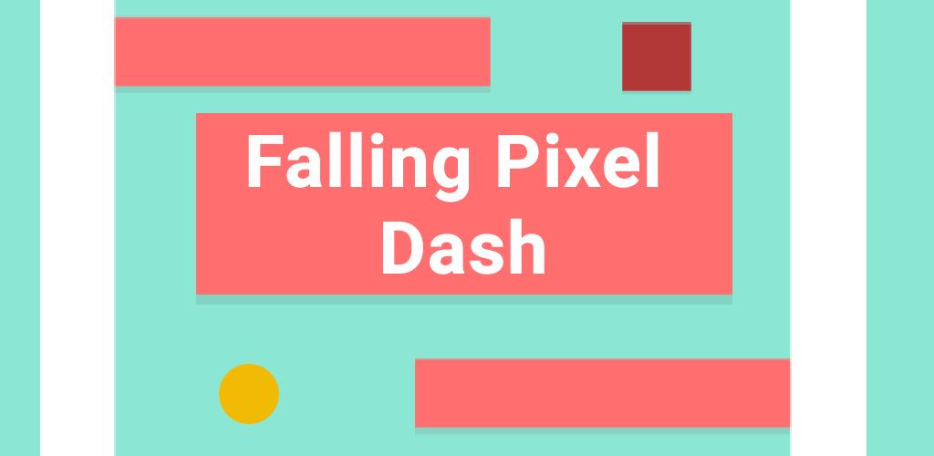 Falling Pixel Dash