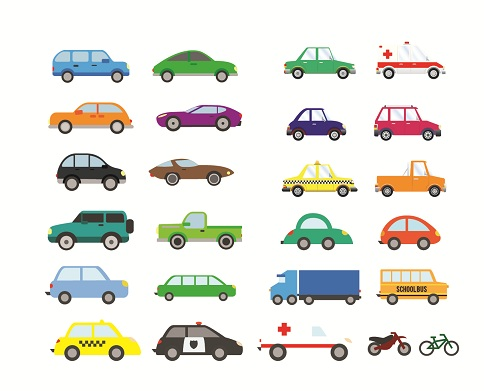 2d Cars for Game Development by MsRanaApps