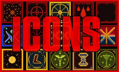 Pixel-art icons (free)
