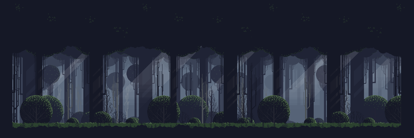 Free Pixel Art Forest