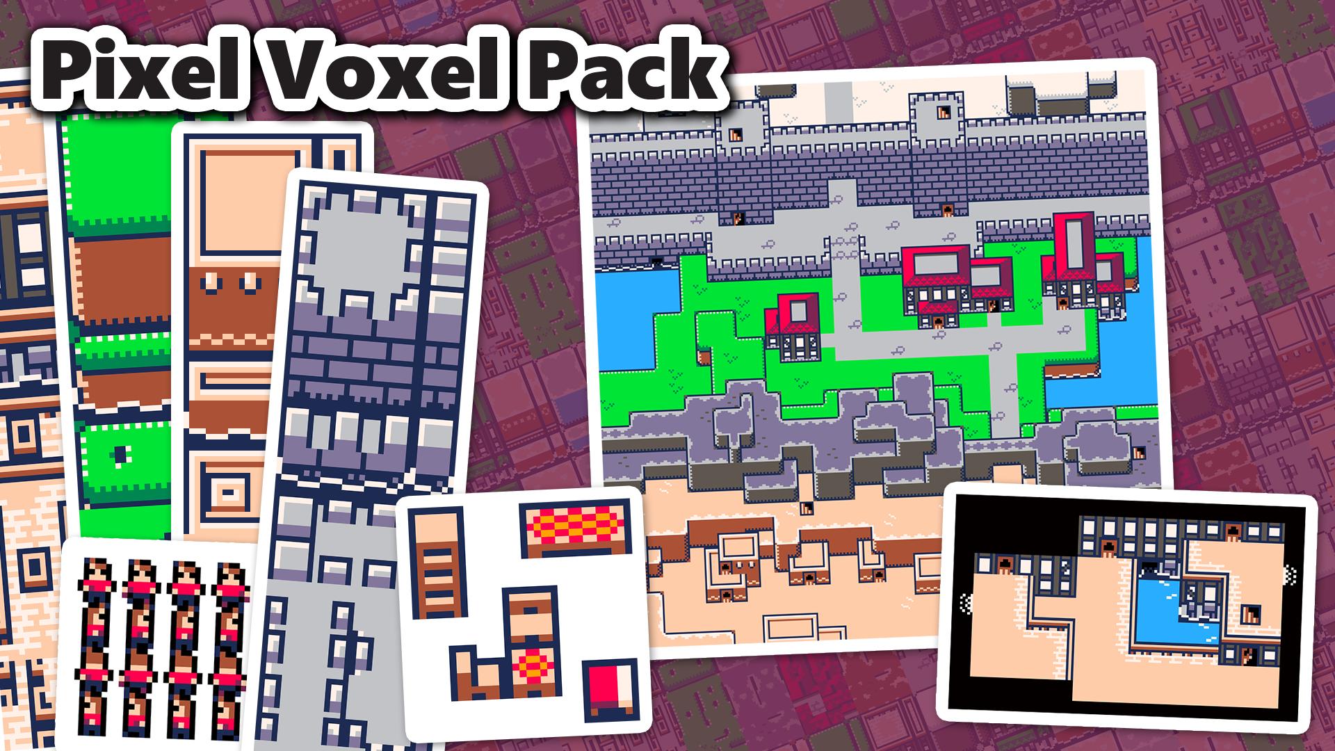 Pixel Voxel Pack