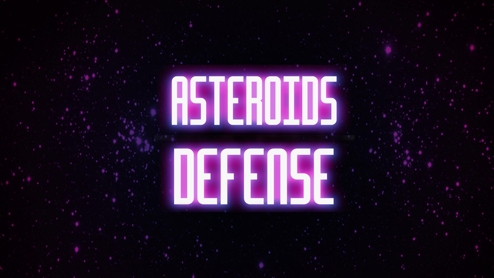Asteroids Defense
