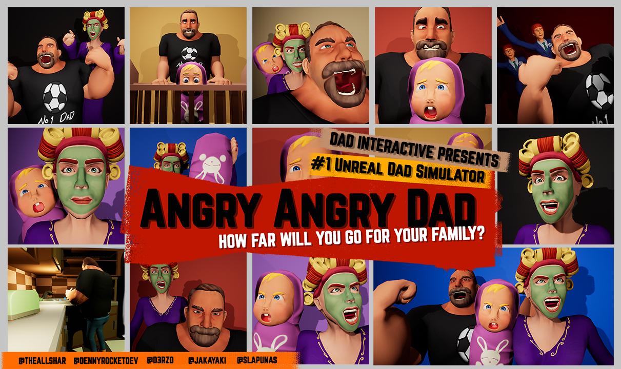 Angry Angry Dad