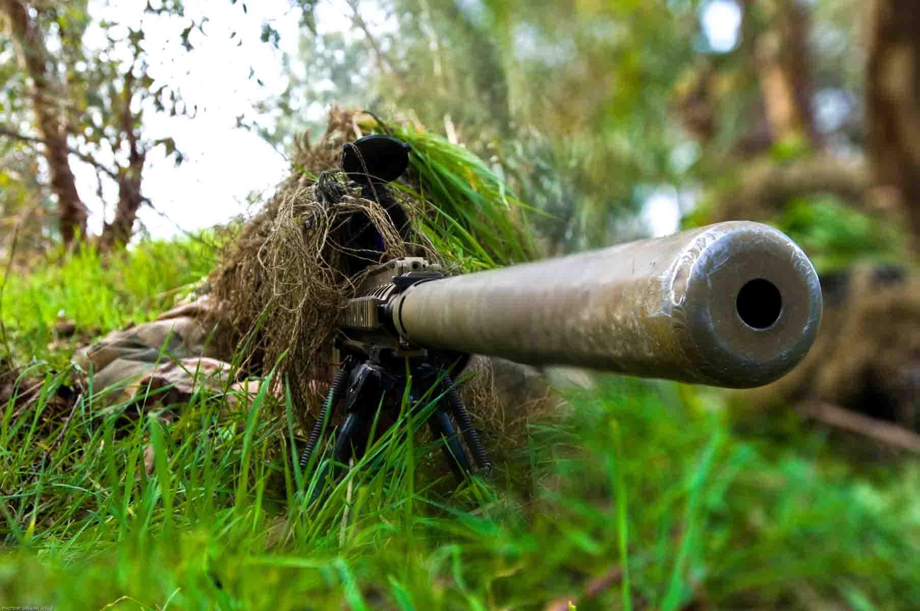 Снайперские будни