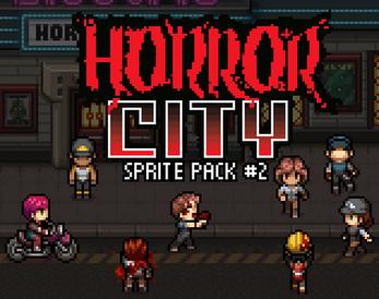 Horror City - Sprite Pack #2 by VexedEnigma