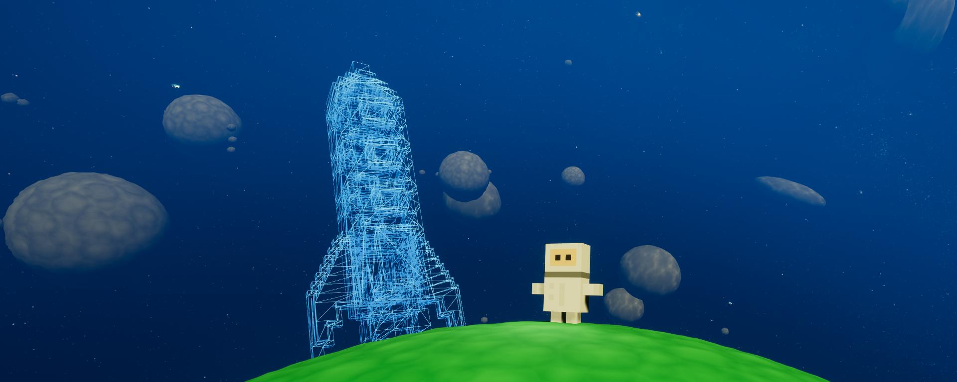 Ludum Dare 38 - Blocknauts!