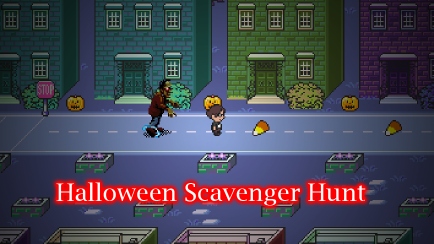 Halloween Scavenger Hunt 2013 (Remake & Original)