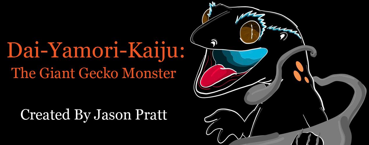 Dai-Yamori-Kaiju: The Giant Gecko Monster