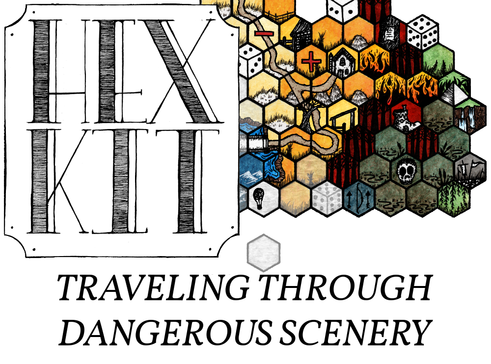 Hex Kit: Traveling Through Dangerous Scenery