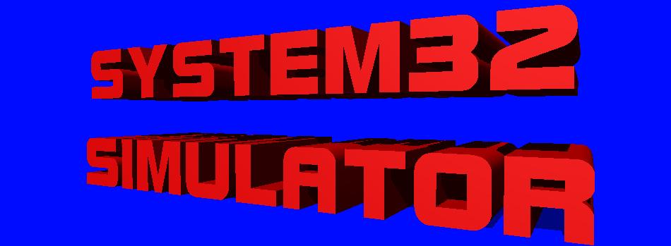 System 32 Simulator