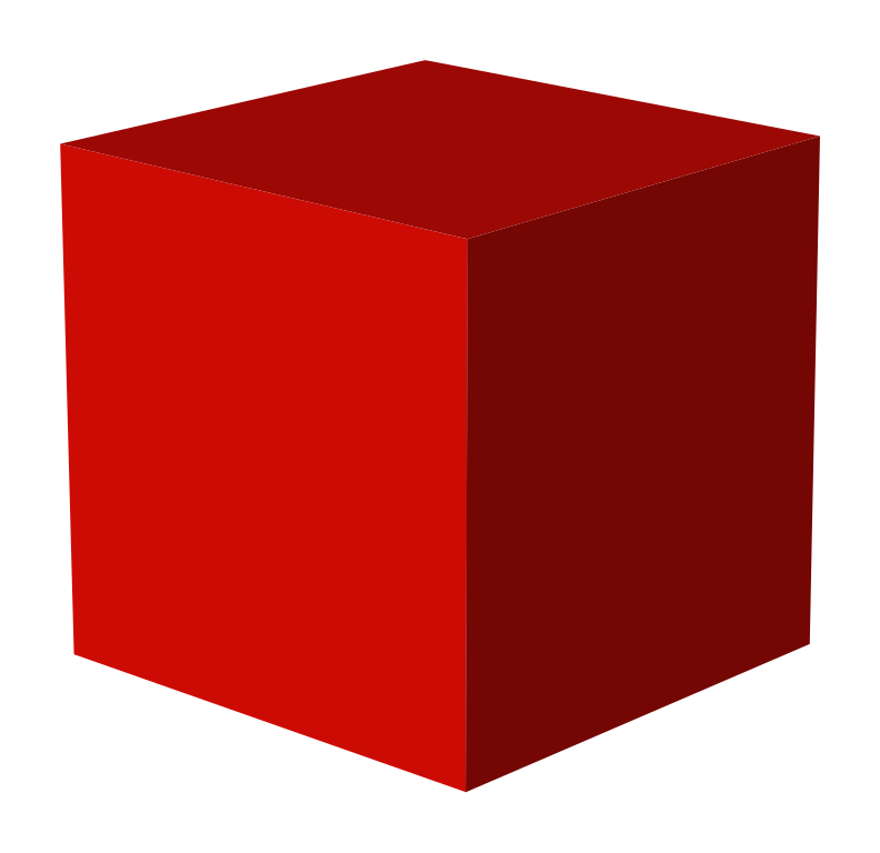 RED CUBE 3D by jameslacey