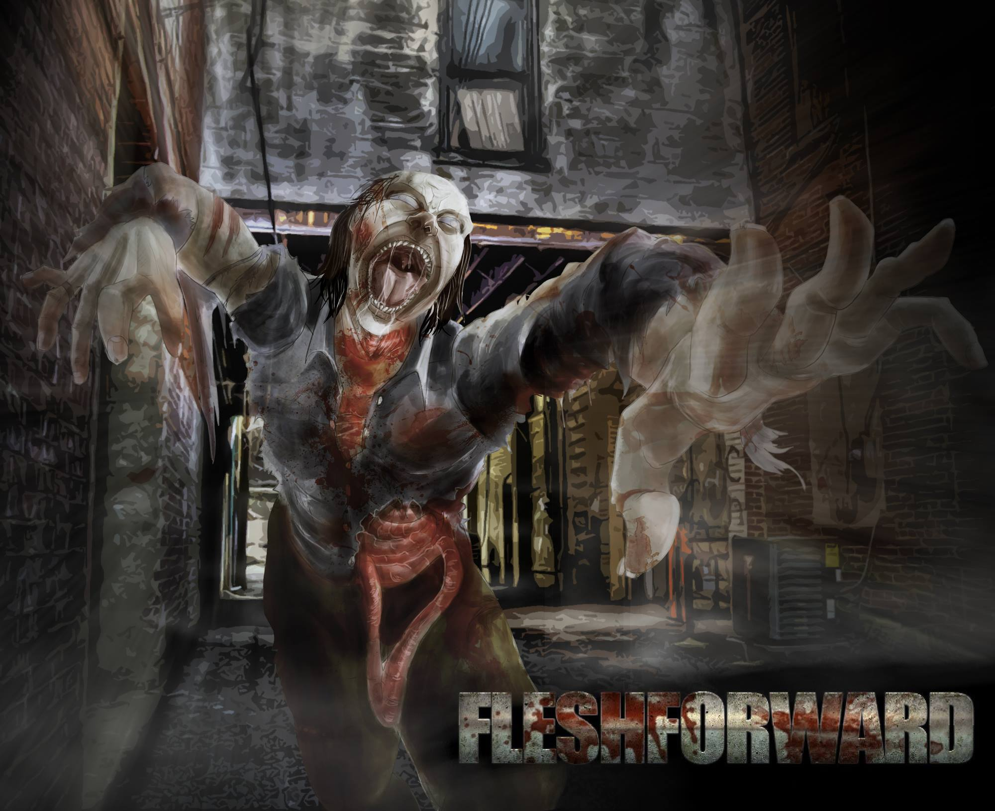 Fleshforward (Demo 1 & 2) by Linked Rooms Games