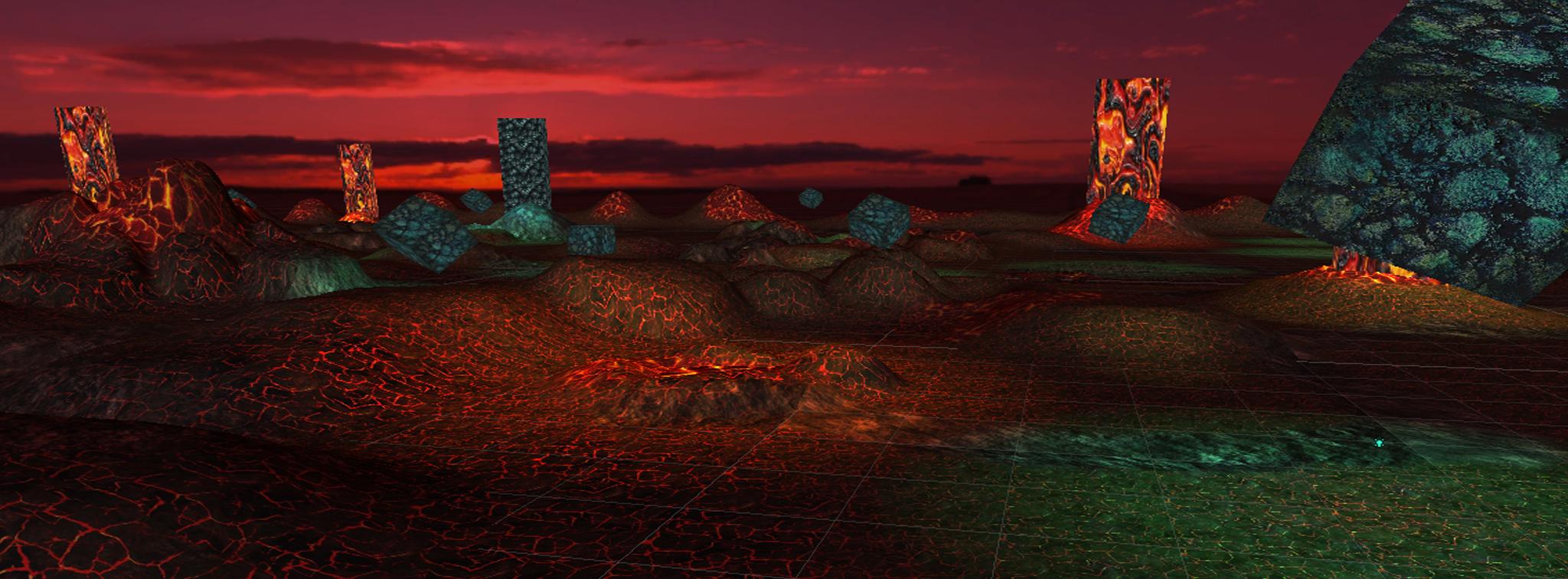 VR  Alien Planet
