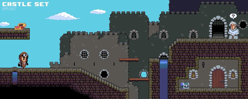 OPP 2017 - Castle tiles by Open Pixel Project